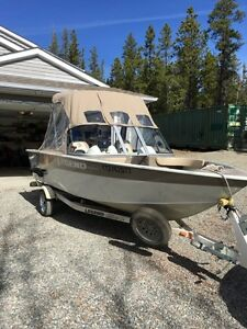 2007 16xcalibur legend boat with 60 hp 4 stroke