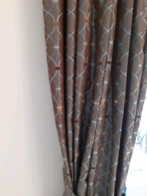 Curtains Tie Backs And Cushion Covers
