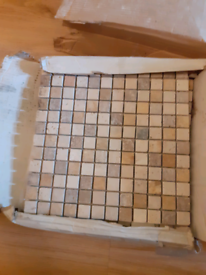 Mosaic tiles sheets x5 30x30cm square