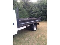 Ford transit tipper body