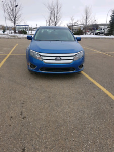 2012 ford fusion with low km
