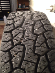 **REDUCED**WINTER RATED **HANKOOK DYNAPRO ATM LT 295/70/17