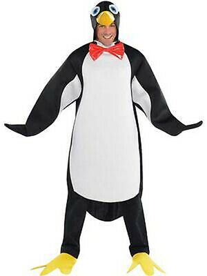 Adult Penguin Pal Costume Happy Feet Bird Fancy Dress Outfit STD up to size 42