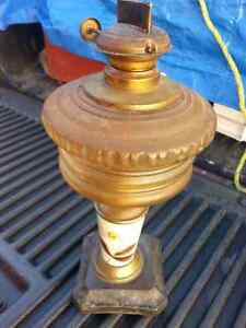 Antique Lamp Kerosene