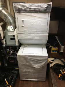 Brand New gas washer and dryer