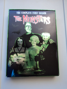 THE MUNSTERS TV SERIES DVD.