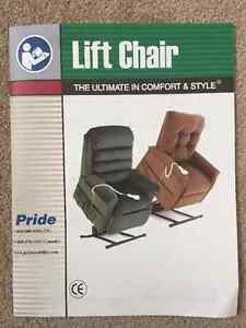 Leather Couch and Power Lift chair for sale Regina Regina Area image 2