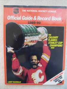 1989-90-National Hockey League-Official Guide & Record Book