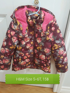 Girls H&M coat