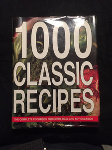 1000 Classic Recipes over 500 pages by Hermes house