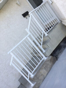 CHEAP-BrandNew Supply and install Welded aluminum RAILINGS power