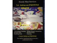 GENERAL BUILDER ! HANDYMAN INTERIORS, PAINTING, WALLPAPER. ALL YOU NEED FOR YOUR HOUSE !!