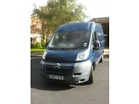 Citroen Relay L2 H2 120 Professional Conversion Campervan, Gas Heater, Fixed Double bed, 49000.