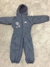 Trespass snowsuit 18-24 months worn once like new!