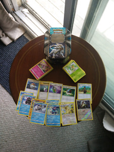 Pokemon Cards- Popplio and Friends with Collectible Tin!