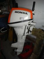 Honda 7.5 HP 4-stroke outboard with tank