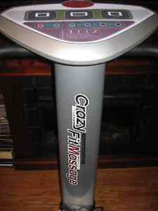 CRAZY FIT MASSAGE WORK OUT EXERCISE MACHINE STATE OF THE ART ! Cambridge Kitchener Area image 5