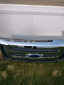 New 2008 f350 super duty grille assy