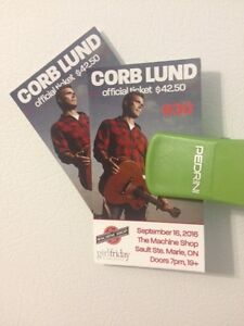 2 Corb Lund Tickets!