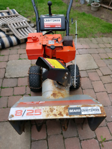 Sears 25 inch 8 HP snow blower 2 stage 5 speeds with reverse