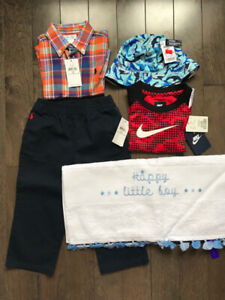 Toddler Boys Ralph Lauren, Nike, Zara - BRAND NEW with tags!