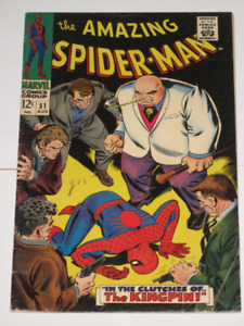 Marvel Comics Amazing Spider-Man#51 2nd Kingpin! comic book