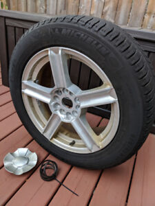 Four (4) Michelin X ICE winter tires on rims