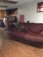 Partly furnished Basement suite for Rent