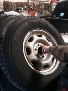 Snow tires and rims f150 came off 2011
