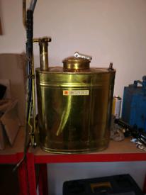 Ginge vintage knapsack sprayer