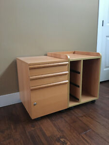 Ikea printer table and filling cabinet set!