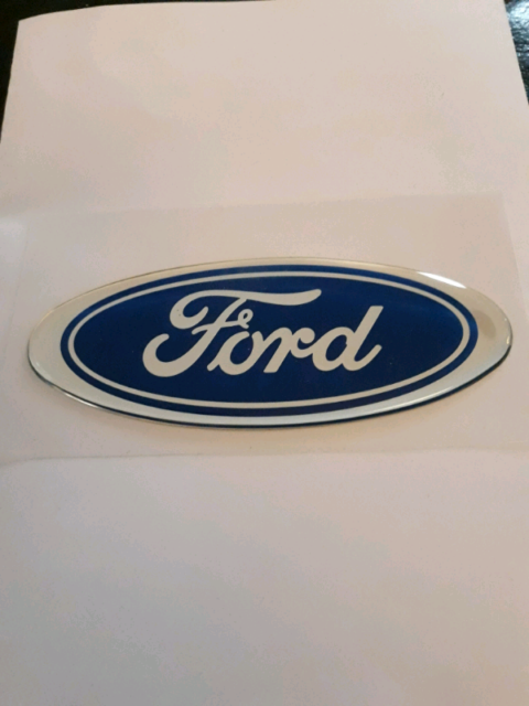 Reproduction Ford Sierra Badge rs Sapphire 4x4