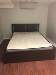1 Bedroom Basement For Rent