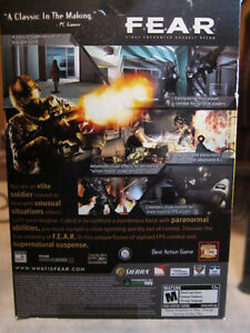 F.E.A.R. First Encounter Assault Recon (PC CD) Kingston Kingston Area image 3