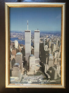 Cadre ancien des Tours du World Trade Center