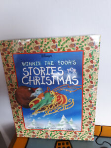 """Disney's Winnie the Pooh """"Stories for Christmas"""" book"""
