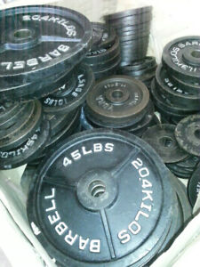 Used Olympic Weight Plates