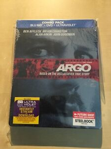 Argo Blu Ray Steelbook Brand New and Sealed