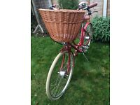 Red Pashley Britannia Bicycle - Still with Shop labels attached - NEVER USED - £350ono