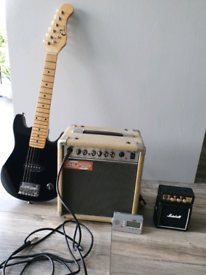 Guitar and practice amps
