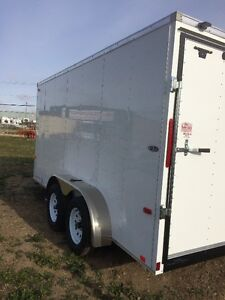 "2017 Look 7x14 ST Enclosed trailer + 6"" Height Edmonton Edmonton Area image 4"
