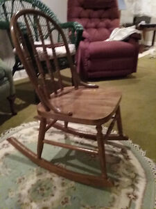 Maple Nursing Rocker - REDUCED!!!