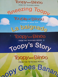 NEW - TOOPY AND BINOO = English / French Books