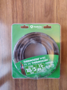 18/5 Thermostat Wire 15m