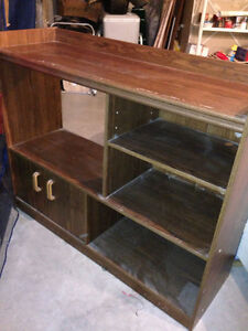 TV Stand and shelf unit