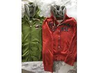 Women's zipped hoodie