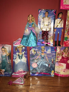 Barbie Dolls & Outfits
