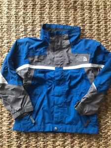 Boy's North Face HyVent Jacket - small