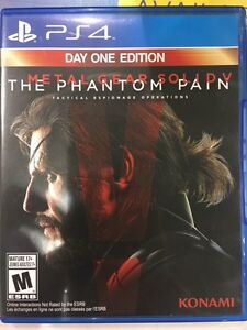 Metal Gear Solid V - The Phantom Pain PS4 Cambridge Kitchener Area image 1