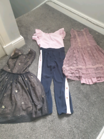 Next and Baker Collection of dresses and suit for girls age 9yrs